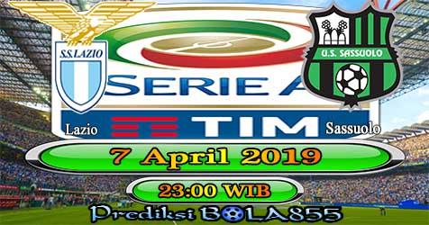 Prediksi Bola855 Lazio vs Sassuolo 7 April 2019