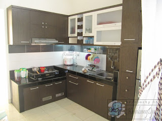 Kitchen Set Dapur Bahan Multiplek HPL + Furniture Semarang