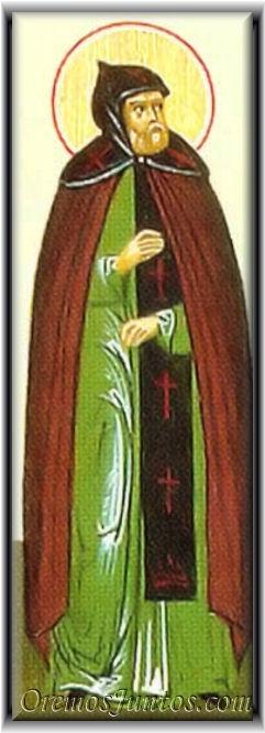 sveti Bessarijon - puščavnik, berač in romar