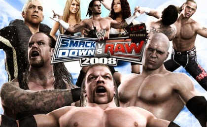 WWE SmackDown vs Raw 2008 Free Download Games