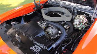 1969 Pontiac LeMans GTO Ram Air IV Convertible Engine