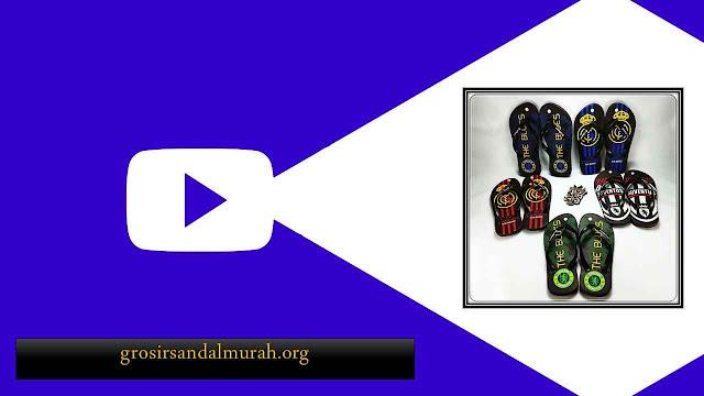 Peluang Bisnis Grosir Sandal Murah || AMX CMR Spon Dewasa Pria