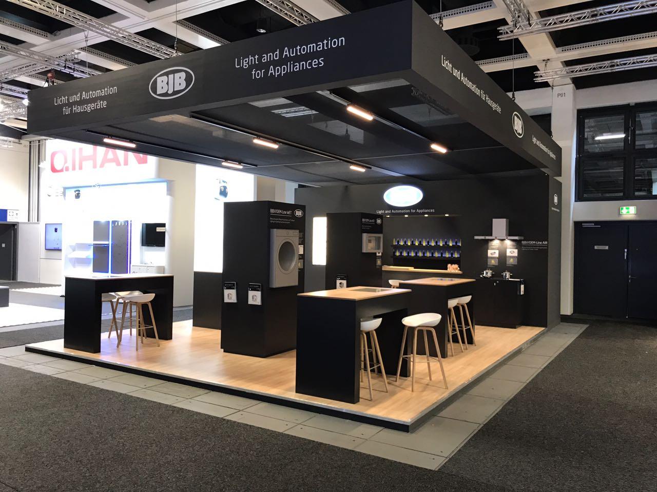 fairconstruction mdl expo international gmbh kunde bjb auf der ifa 2017 in berlin. Black Bedroom Furniture Sets. Home Design Ideas