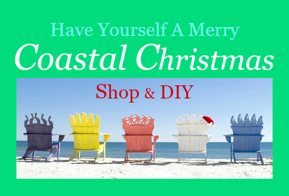 Coastal Christmas Decor | Shop & DIY