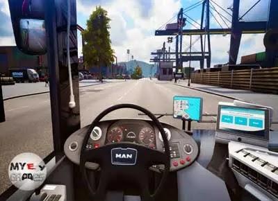 من داخل تحميل لعبة Bus Simulator 16 كاملة للكمبيوتر من ميديا فاير