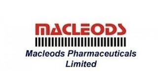 ITI, Diploma, BE Vacancies for Freshers in Engineering Department Macleods Pharma Ltd Bharuch, Gujarat.