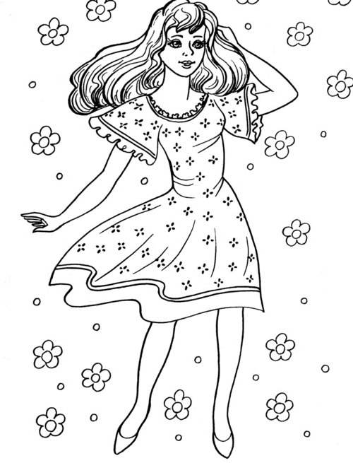 Girl Coloring Pages For Kids >> Disney Coloring Pages