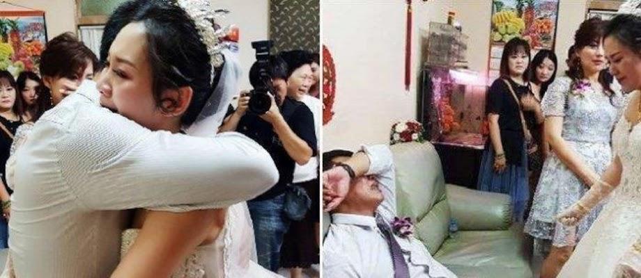 Menghadiri Pesta Pernikahan, Wanita Ini Kaget Mempelai Pria Ternyata Suaminya Sendiri