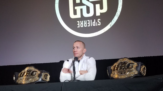 Georges St-Pierre Announces Retirement In Montreal