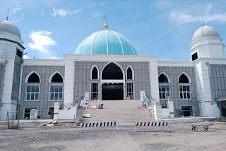 Keren, Inilah Kondisi Masjid Agung Al-Muwahiddin Bima Setelah Dipoles dengan  Dana Rp8,5 Milyar