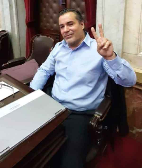 News, World, Argentine, MP, Resigned, Social Network, Viral, Girlfriend, Argentine MP quits after he was caught kissing and fondling his girlfriend during virtual Covid debate on Zoom