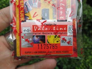 baterai Motorola V3 BR50 valentine