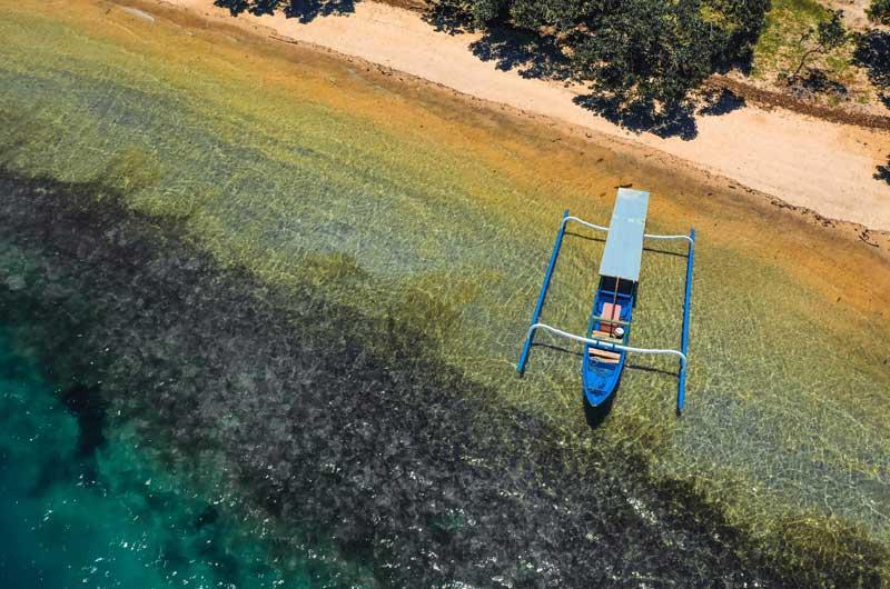 Fasilitas Wisata Gili Nanggu Island