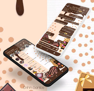 Chocolateee Love Theme For YOWhatsApp & Fouad WhatsApp By Driih Santos