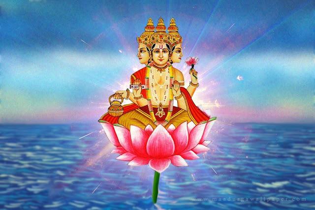 Four Faces of Brahma