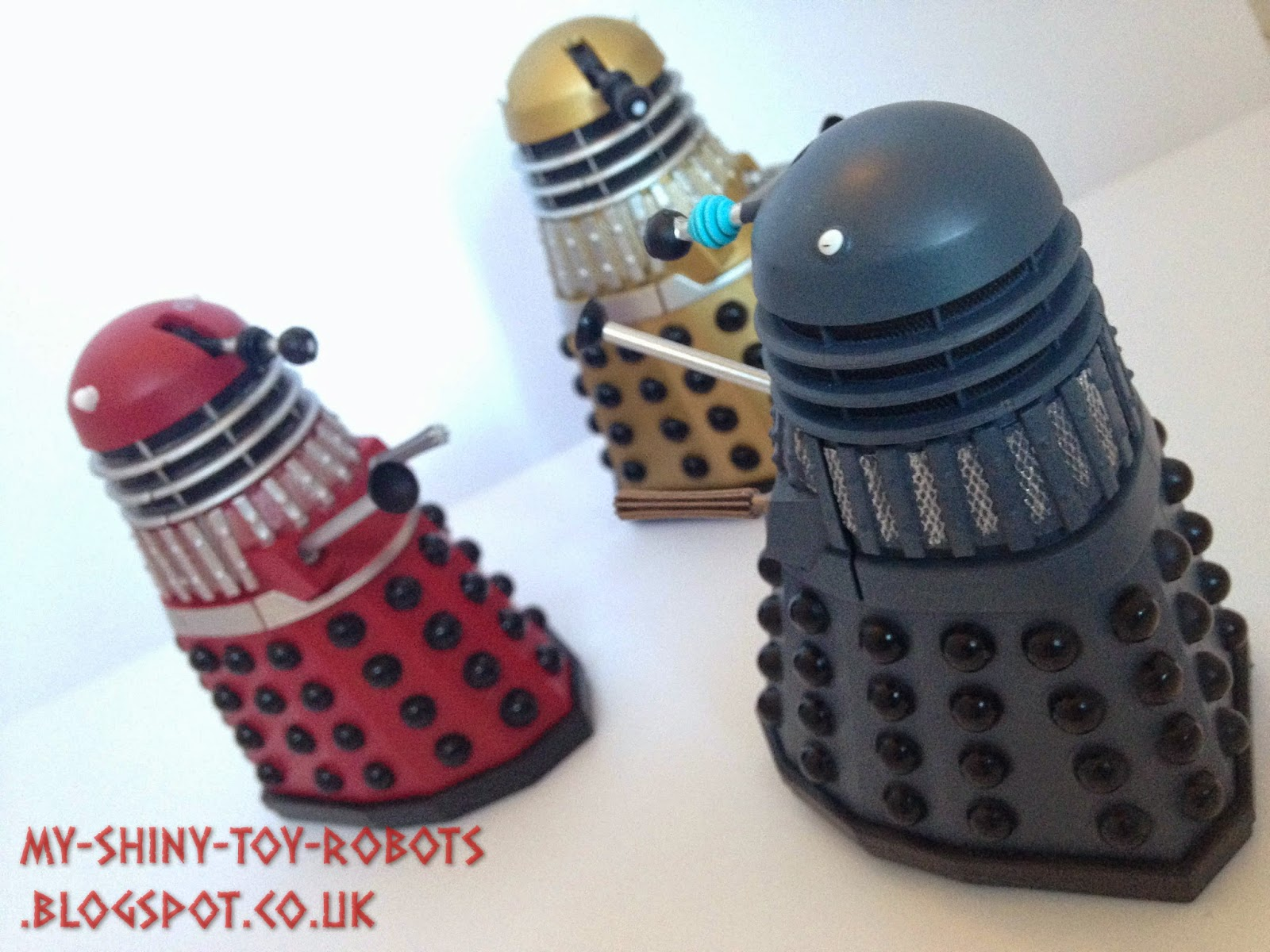 "With the 3.75"" Genesis Dalek"