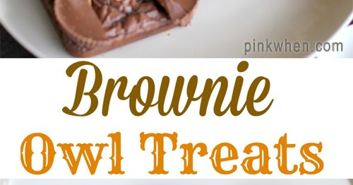 My Owl Barn Easy Brownie Owl Treats