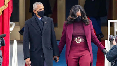 Barack Obama Whispers Sweet Everything About Michelle From Last Inauguration!