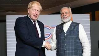 England Labor Party criticized for using Prime Minister Modi's image to target Boris Johnson