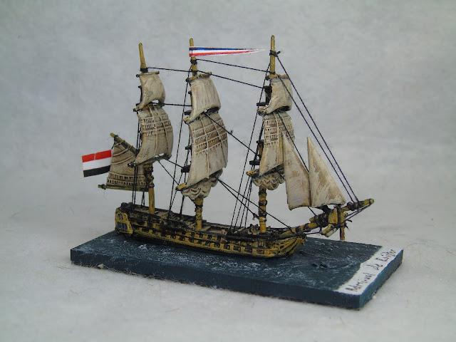 langton miniatures dutch 1:1200 rigged 68