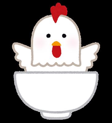 鶏丼のキャラクター