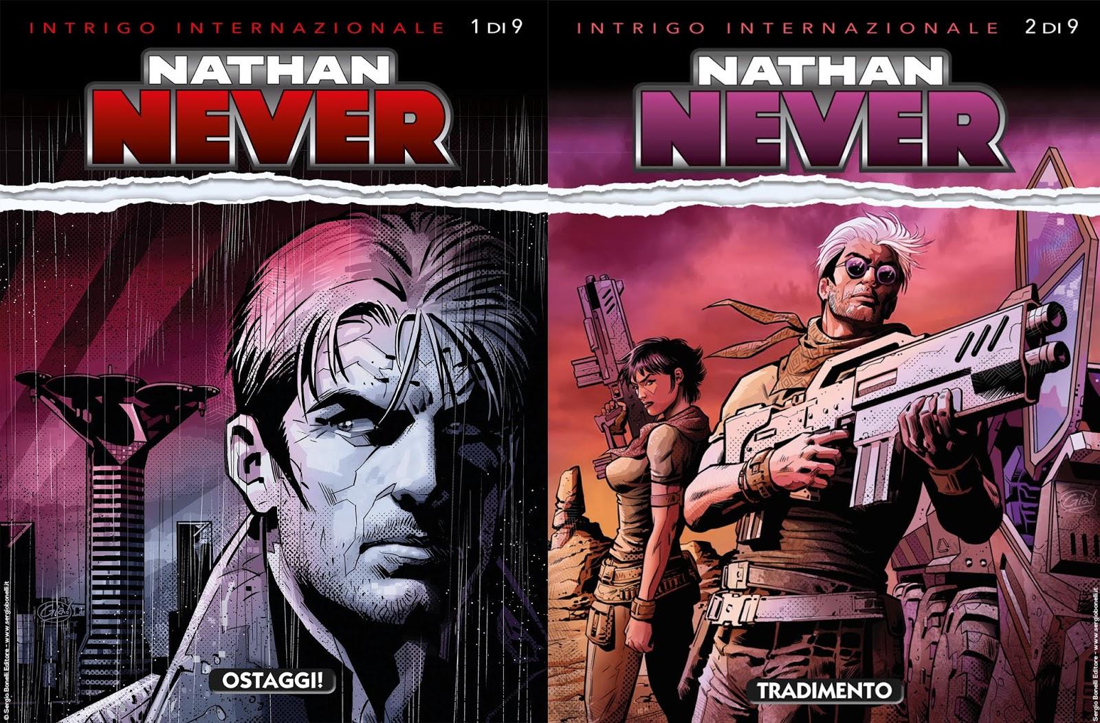 Nathan Never Intrigo internazionale