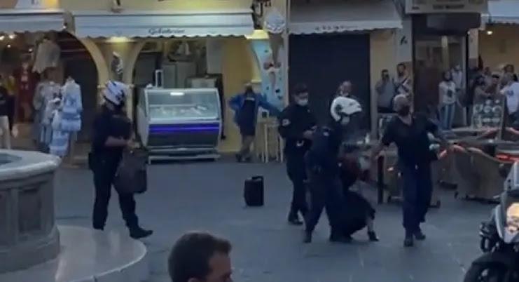 Διεθνής διασυρμός με το ΒΙΝΤΕΟ της γυναίκας που συνελήφθη στην Ρόδο  vid