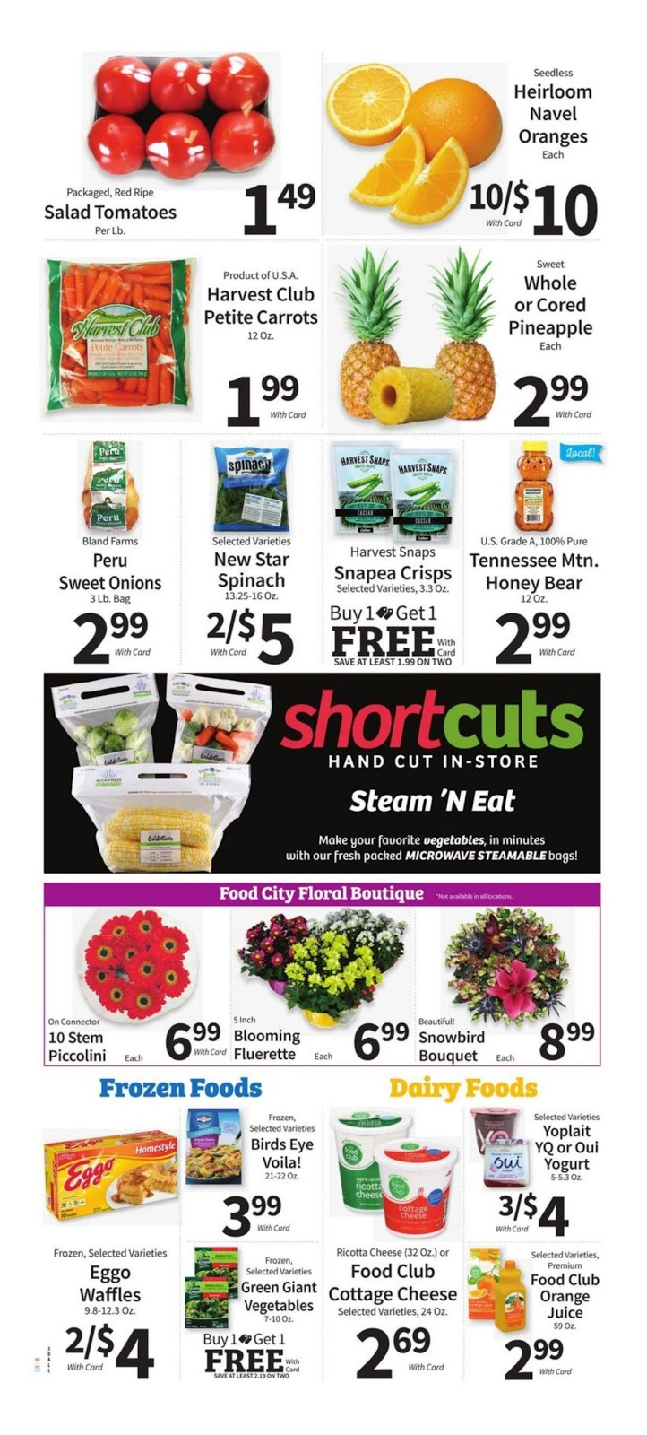 Food City Weekly Ad January 16 22 2019 Grocery Weekly Ads