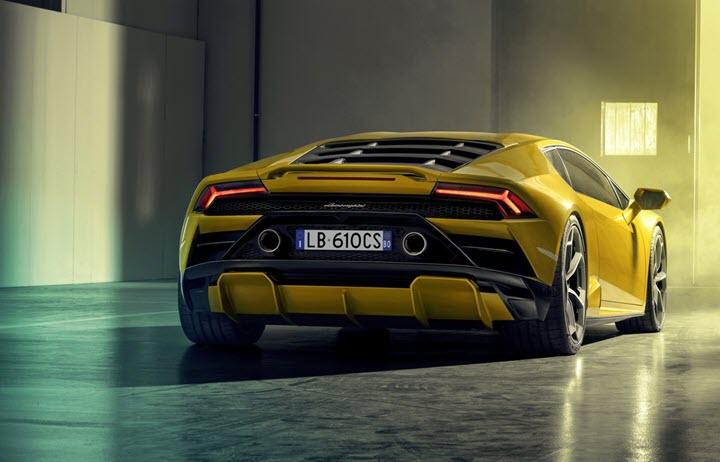 Bản độ Lamborghini Huracan Evo đầu tiên làm từ carbon đúc