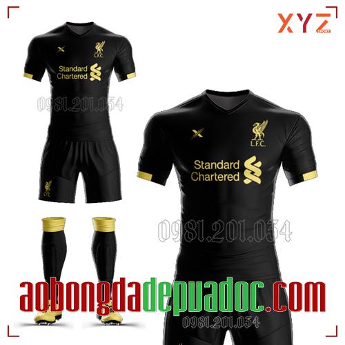 Áo Liverpool 2020 Sân Khách Màu Đen Đẹp Và Độc