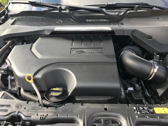 Engine in 2020 Range Rover Evoque