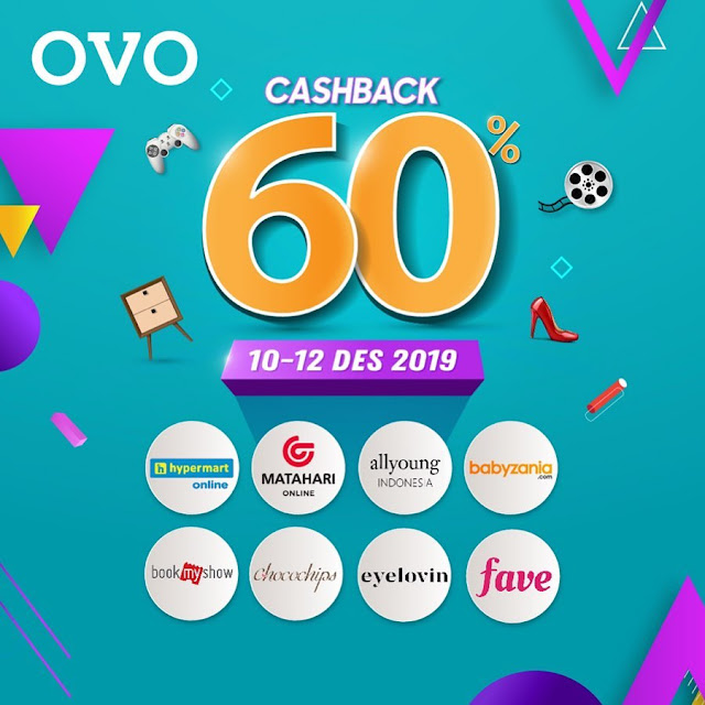 #OVO - #Promo 12.12 Sepuasnya Online Shopping ( s.d 12 Des 2019)