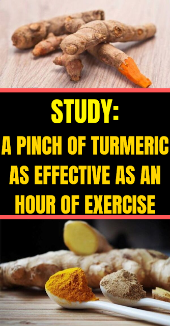 STUDY: A Pinch of Turmeric as Effective as an Hour of Exercise