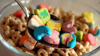 marshmallows from lucky charms cereal