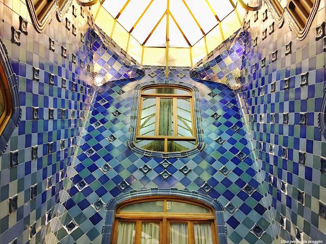 Modernismo catalano Casa Batllò