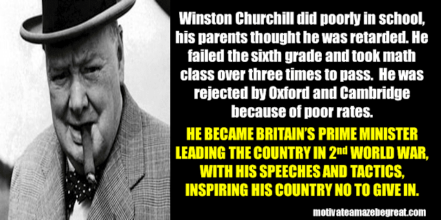 Success Stories From Famous People Who Failed Before Succeeding: Winston Churchill