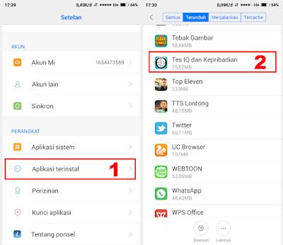 Cara Menghapus Aplikasi Di Xiaomi Semua Tipe