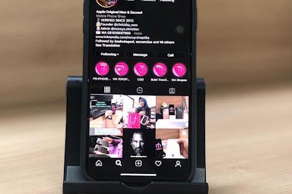 Begini 2 Cara Mengaktifkan Mode Gelap Instagram (Dark Mode)