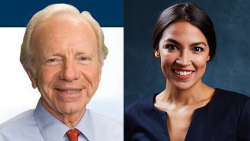 On a recent appearance with Fox Business News, former U.S. Senator and 2000 Democratic vice presidential candidate Joe Lieberman criticized rising-star, Rep. Alexandria Ocasio-Cortez, saying her progressive positions are not where the heart of the Democratic Party lie today.