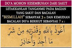 Penyembuhan ala Nabi Muhammad SAW
