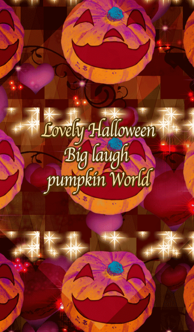 Lovely Halloween Big laugh pumpkin World