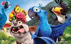 tokoh kartun film animasi Rio 2011