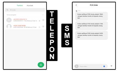 Bom SMS dan Telepon