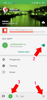 Cara Transaksi Pakai Xabber