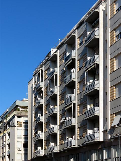 Twenty balconies, Via III Novembre, Livorno