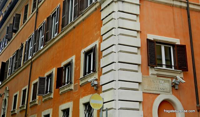 Beco do Mal Passo, Via Giulia, Roma