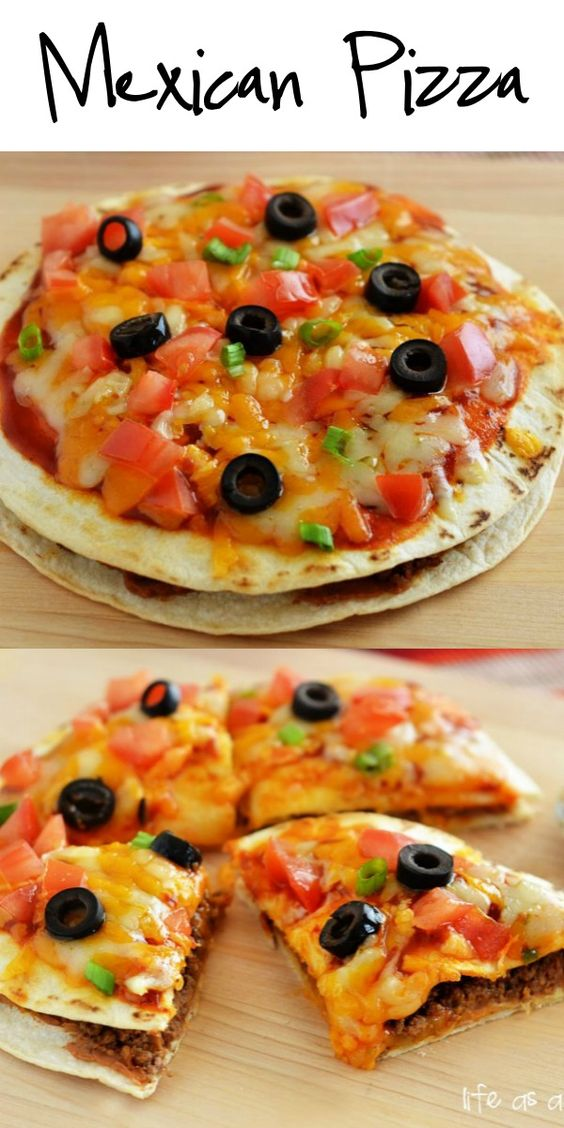 Mexican Pizza #recipes #pizza #pizzarecipe #food #foodporn #healthy #yummy #instafood #foodie #delicious #dinner #breakfast #dessert #lunch #vegan #cake #eatclean #homemade #diet #healthyfood #cleaneating #foodstagram