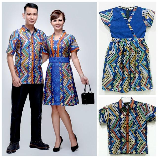 Model Batik Couple Untuk Lebaran Bahan Halus