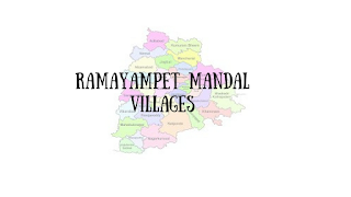 Ramayampet mandal with villages
