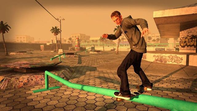 Imagem do Tony Hawk's Pro Skater HD